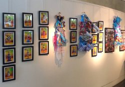 Exposition au Recycl'Mode
