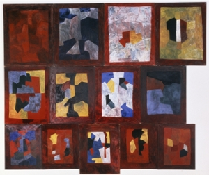 Composition murale (1965-67) - Serge Poliakoff