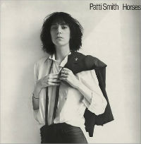 "Robert Mapplethorpe - Pochette de l'album ""Horses"" de Patti Smith"