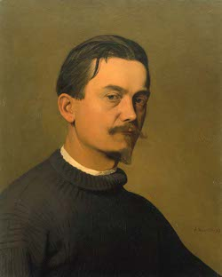 "Félix Vallotton ""Autoportrait"" (1897 - Collection privée)"
