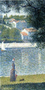 Seurat / bords de Seine