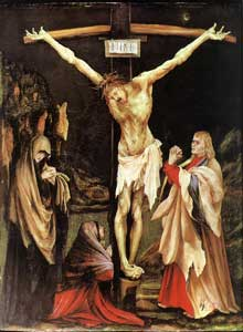 Crucifixion v. 1502 - Huile sur bois - Washington, National Gallery of Art