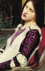 Sainte Cécile (détail) / John William Waterhouse (1849-1917) - 1895 - Collection particulière
