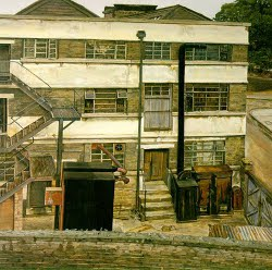 Factory in north London (1972) - Lucian Freud