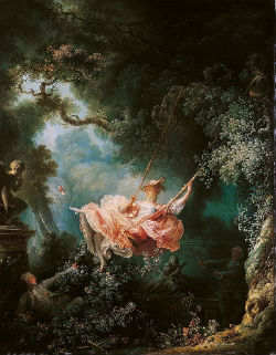 Jean-Honoré Fragonard, Les hasards heureux de l'escarpolette 1767 - Londres, Wallace collection