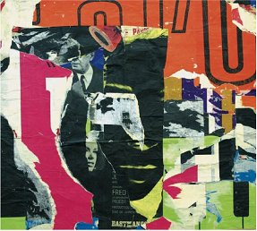 Rue Jean Paris-Selesto, dé-collage, 1965 Collection Cindy and Lee Root, USA