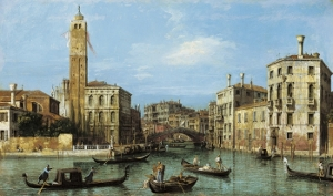 "Canaletto ""Le Grand Canal et l'entrée au Cannaregio"" Royal Collection Trust © HM Queen Elizabeth II, 2012"