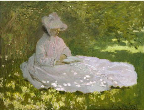 Claude Monet - La liseuse © The Walters Art Museum, Baltimore