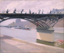 Pont des arts - 1906 (Whitney Museum of American Art)