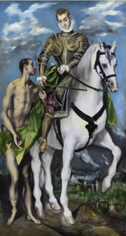 Le Greco 1597 - 1599 Huile sur toile, Collection National Gallery of Art, WashingtoN