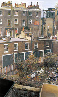Wasteground with houses (1970-1972)