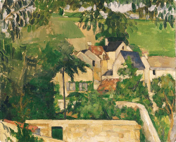 Paul Cézanne - Le quartier du four à Auvers-sur-Oise (vers 1873) - Philadelphia Museum of art