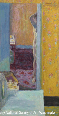 Pierre Bonnard - Nu dans un intérieur (1912-1914) Washington, National Gallery of Art © ADAGP, Paris 2015 /Courtesy National Gallery of Art, Washington